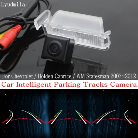 Car Intelligent Parking Tracks Camera FOR Chevrolet / Holden Caprice / WM Statesman Reverse Camera / Rear View Camera