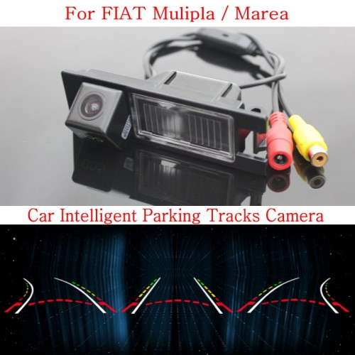 Car Intelligent Parking Tracks Camera FOR FIAT Mulipla / Marea / HD Back up Reverse Camera / Rear View Camera