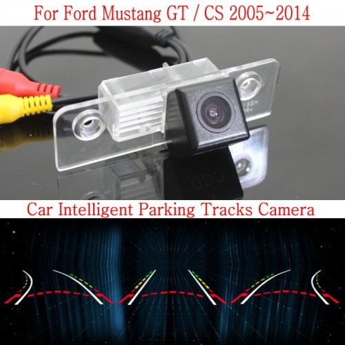 Car Intelligent Parking Tracks Camera FOR Ford Mustang GT / CS 2005~2014 / HD Back up Reverse Camera / Rear View Camera
