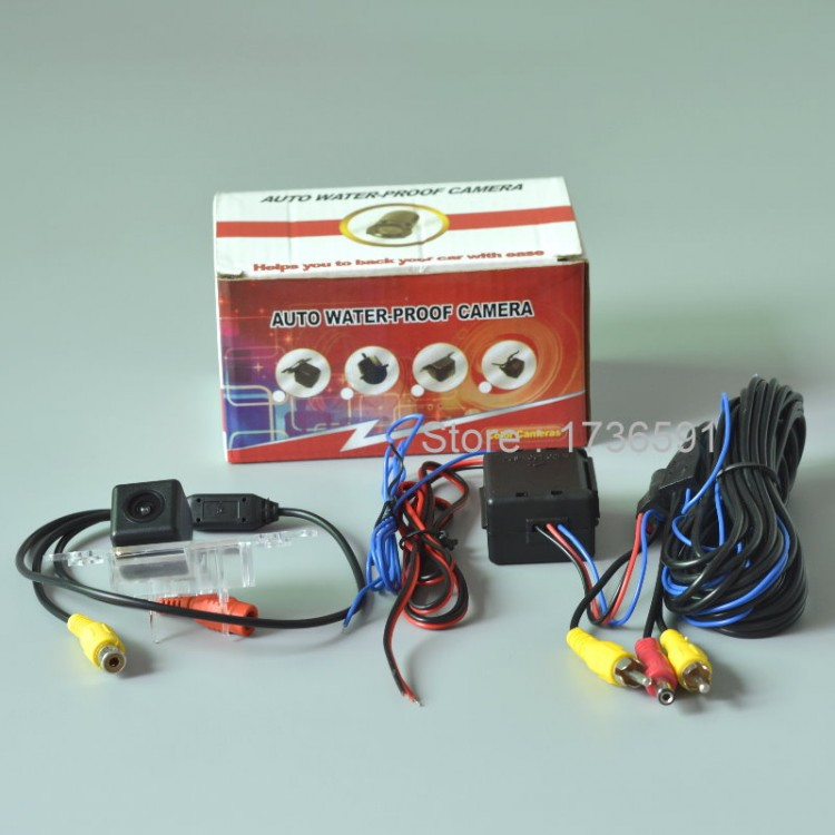 Car Intelligent Parking Tracks Camera For Ford Mustang Gt