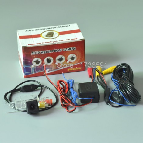 Power Relay For Ford Flex 2009~2014 / Car Rear View Camera / Back up Reverse Camera /  HD CCD NIGHT VISION