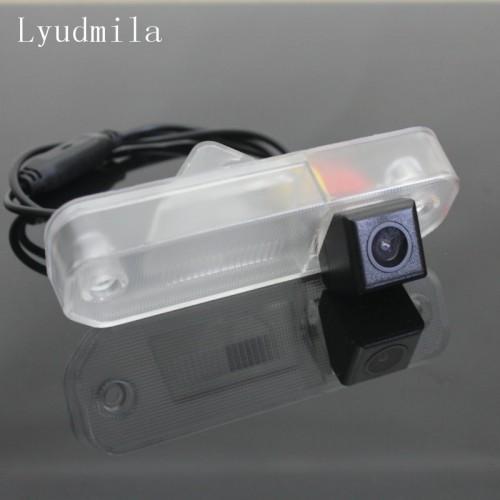 For Hyundai Sonata EF 1998~2006 - RearView Camera Backup Parking Reverse Camera HD RCA NTSC PAL License Plate Lamp OEM