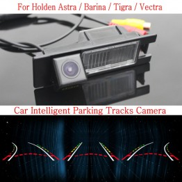 Car Intelligent Parking Tracks Camera FOR Holden Astra / Barina / Tigra / Vectra / Reverse Camera / Rear View Camera