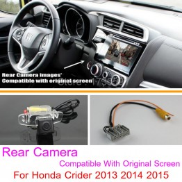 For Honda Crider 2013 2014 2015 / RCA & Original Screen Compatible / Car Rear View Camera / Back Up Reverse Camera Sets