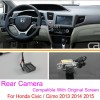 For Honda Civic / Ciimo 9th Generation 2012~2014 Original Screen Compatible / Car Rear View Back Up Reverse Camera Setscloud-zoom-gallery