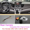 For Honda CRV CR-V 2012~2014 / RCA & Original Screen Compatible / HD Car Rear View Camera Sets / Back Up Reverse Cameracloud-zoom-gallery