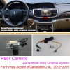 For Honda Accord 9 Generation 2.4L  2012~2015 RCA & Original Screen Compatible / Rear View Camera Sets / Back Up Reverse Cameracloud-zoom-gallery