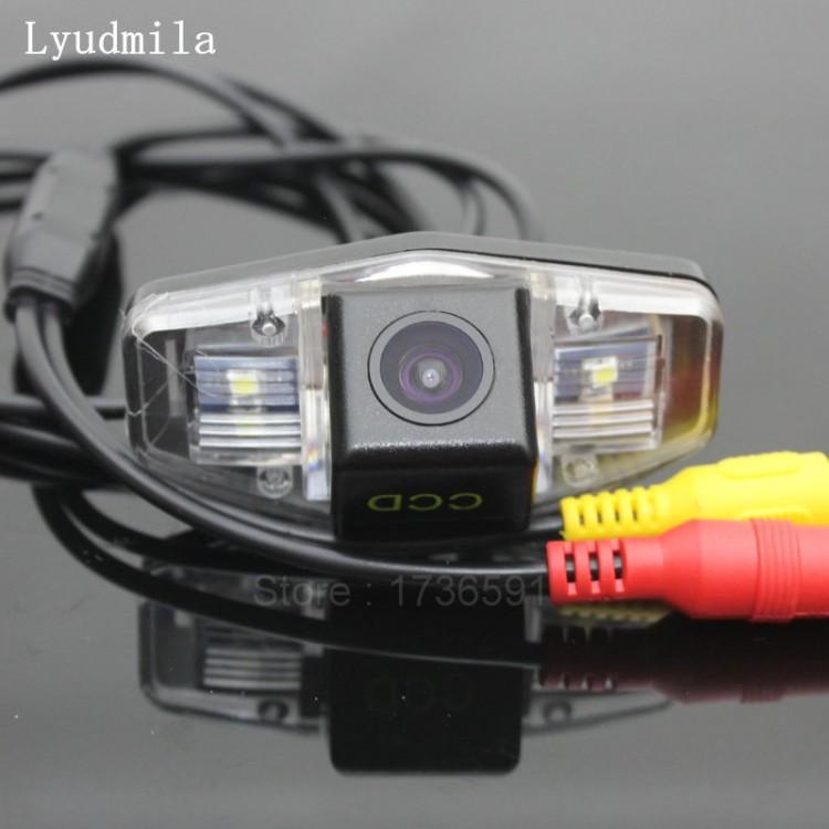 for Honda Civic VII VIII 2001~2014 Car Rear View Camera+8LED Back Up Reverse Parking Camera//Plug Directly