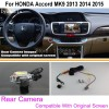 Connect Original Factory Screen / Monitor Car Camera For HONDA Accord MK9 2013 2014 2015 Rear View Back Up Cameracloud-zoom-gallery