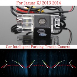 Car Intelligent Parking Tracks Camera FOR Jaguar XJ 2013 2014 / HD Back up Reverse Camera / Rear View Camera