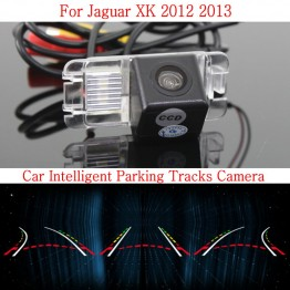 Car Intelligent Parking Tracks Camera FOR Jaguar XK 2012 2013 / HD Back up Reverse Camera / Rear View Camera