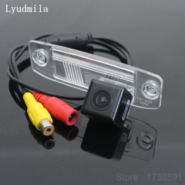 FOR KIA Carens / Ceed / Rondo / Reversing Back up Parking Camera / Rear View Camera / HD CCD Night Vision + Wide Angle
