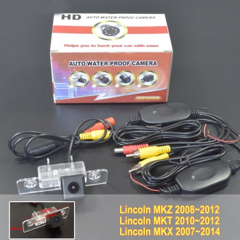 Wireless Camera For Lincoln MKZ / MKT / MKX / Car Rear view Camera / Reverse Camera / HD CCD Night Vision / Easy Installation