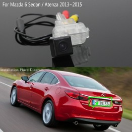 For Mazda 6 Mazda6 Sedan / Atenza GJ 2013~2017 Car Reversing Back up Camera / Rear View Camera / HD CCD Night Vision