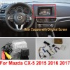 Car Rearview Camera Connect Original Screen FOR Mazda CX5 CX-5 CX 5 2015 2016 2017 Reverse Backup Camera RCA Adapter Connectorcloud-zoom-gallery