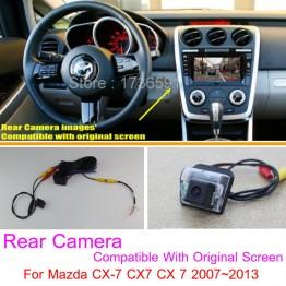 For Mazda CX-7 CX7 CX 7 2007~2013 RCA & Original Screen Compatible Sets / Car Rear View Camera / Back Up Reverse Camera