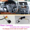 For Mazda CX-9 CX9 CX 9 2007~2014 / RCA & Original Screen Compatible / Car Rear View Camera / Back Up Reverse Camera