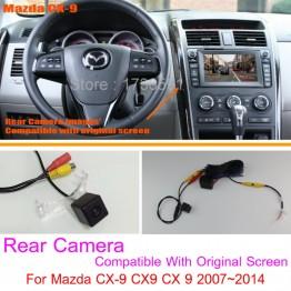 For Mazda CX-9 CX9 CX 9 2007~2014 / RCA & Original Screen Compatible / Car Rear View Camera / Back Up Reverse Camera