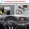 FOR Mazda CX-5 CX 5 CX5 2015 2016 2017 RCA & Original Screen Compatible / Car Rear View Camera / HD Reverse Camera Setscloud-zoom-gallery