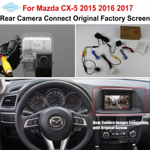 FOR Mazda CX-5 CX 5 CX5 2015 2016 2017 RCA & Original Screen Compatible / Car Rear View Camera / HD Reverse Camera Sets