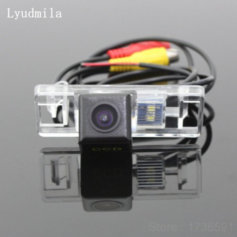FOR Peugeot 508 4D Sedan / 5D Station Wagon / HD CCD Night Vision Car Reverse Camera Back up Camera / Rear View Camera
