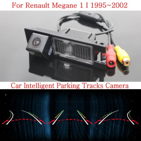 Car Intelligent Parking Tracks Camera FOR Renault Megane 1 I 1995~2002 / HD Back up Reverse Camera / Rear View Camera