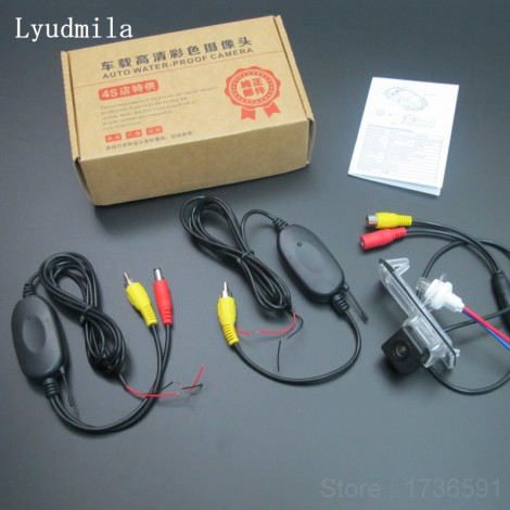 Wireless Camera For Renault Clio 3 / Lutecia 2005~2015 Car Rear view Camera / Back up Reverse Camera / CCD Night Vision