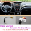 For Subaru Forester 2012~2015 / RCA & Original Screen Compatible / Car Rear View Camera Sets / HD Back Up Reverse Camera