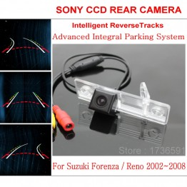 Car Intelligent Parking Tracks Camera FOR Suzuki Forenza / Reno 2002~2008 / HD Back up Reverse Camera / Rear View Camera