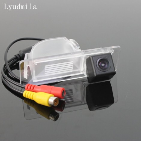 Wireless Camera For Skoda Rapid Sedan 2012~2015 Car Rear view Camera / HD CCD Night Vision / Back up Reverse Camera