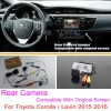 For Toyota Corolla / Levin 2015 2016 / RCA & Original Screen Compatible / Car Rear View Camera Sets / HD Back Up Reverse Camera