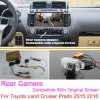 For Toyota Land Cruiser Prado 2015 2016 RCA & Original Screen Compatible / Car Rear View Camera Sets / HD Back Up Reverse Camera