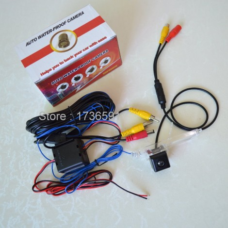 Power Relay For Toyota Land Cruiser J200 V8 / Car Rear View Camera / HD CCD NIGHT VISION / Back up Reverse Camera