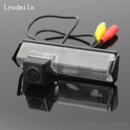 FOR Mitsubishi Pajero Sport / Pajero Dark 2008~2015 CCD Back up Reverse Camera / Car Parking Camera / Rear View Camera