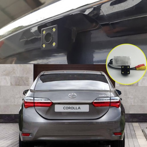 Rear View Camera For Toyota Corolla Altis 2013~2018 2014 2015 2016 CCD Night Vision Backup camera license plate camera