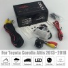 Rear View Camera For Toyota Corolla Altis 2013~2018 2014 2015 2016 CCD Night Vision Backup camera license plate camera