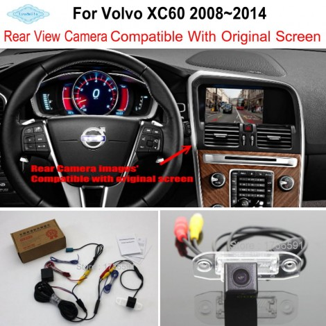 For Volvo XC60 XC 60 2008~2014 RCA & Original Screen Compatible / Car Rear View Camera / HD Back Up Reverse Camera Sets