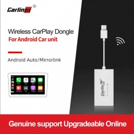 Wireless Apple CarPlay Smart Link USB Dongle for Android Navigation Player