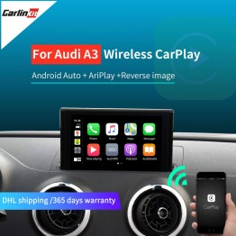 Audi A3 Modified car kit for 2013 -2018 A3 B9 5.8inch 7inch Screen  Wireless Carplay Android Auto
