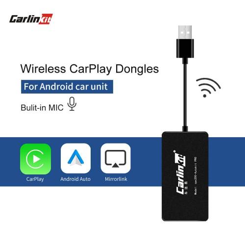 Wireless Carplay/Android Auto Smart Link  CarPlay Dongle for Android Navigation Player Mini USB Carplay Mirrorlink