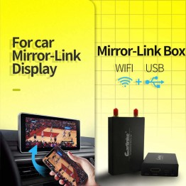 Car WiFi Display iOS AirPlay Mirror Link for Car Home Video Audio