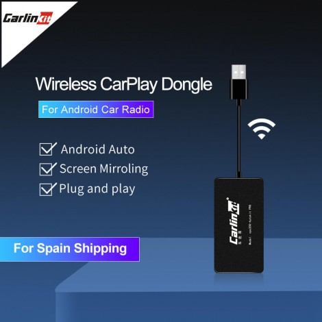 Wireless  CarPlay Dongle Android Auto for Android Navigation Player Apple Carplay