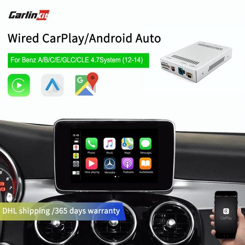 Mercedes NTG4.7 2012-2014 iOS Multimedia Smart Car Retrofit Online Music Apple Carplay Android Auto Carplay Box