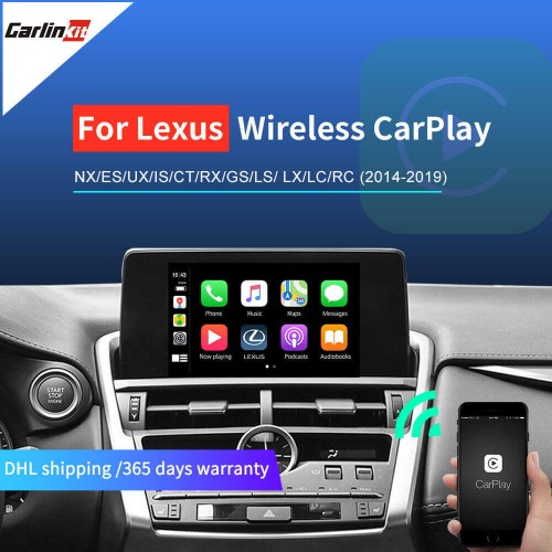 Lexus  2014-2019 Multimedia Wireless Apple CarPlay & Android auto Retrofit Kit