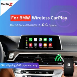 Carlinkit Wireless Apple Canplay Android Auto  For BWM  2009-2012 CIC System  Modified Carplay Support Airplay  Mrrorlink  Map