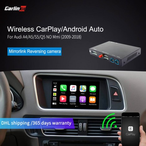 Audi A4 A5 S5 Q5 Wireless CarPlay