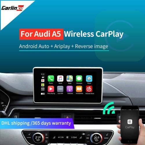 Wireless Apple CarPlay Android Auto for Audi A5 S5 MMI 3G/3G+ MuItimedia Interface CarPlay & Android auto