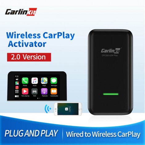 CarPlay Wireless Activator for Porsche Original Car Has Wired Carplay Built-in Wired to Wireless