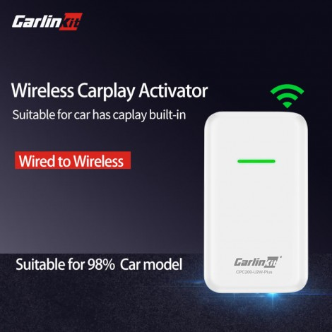 CarPlay Wireless Activator for Volvo XC90 S90 V90 XC60 V60 Wired to Wireless Auto-connect
