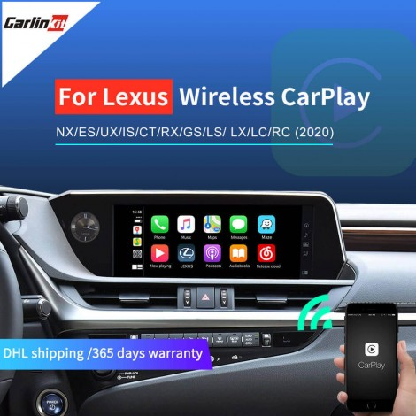 Wireless CarPlay for Lexus NX ES US iS CT RX GS LS LX LC RC   CarPlay & Android Auto